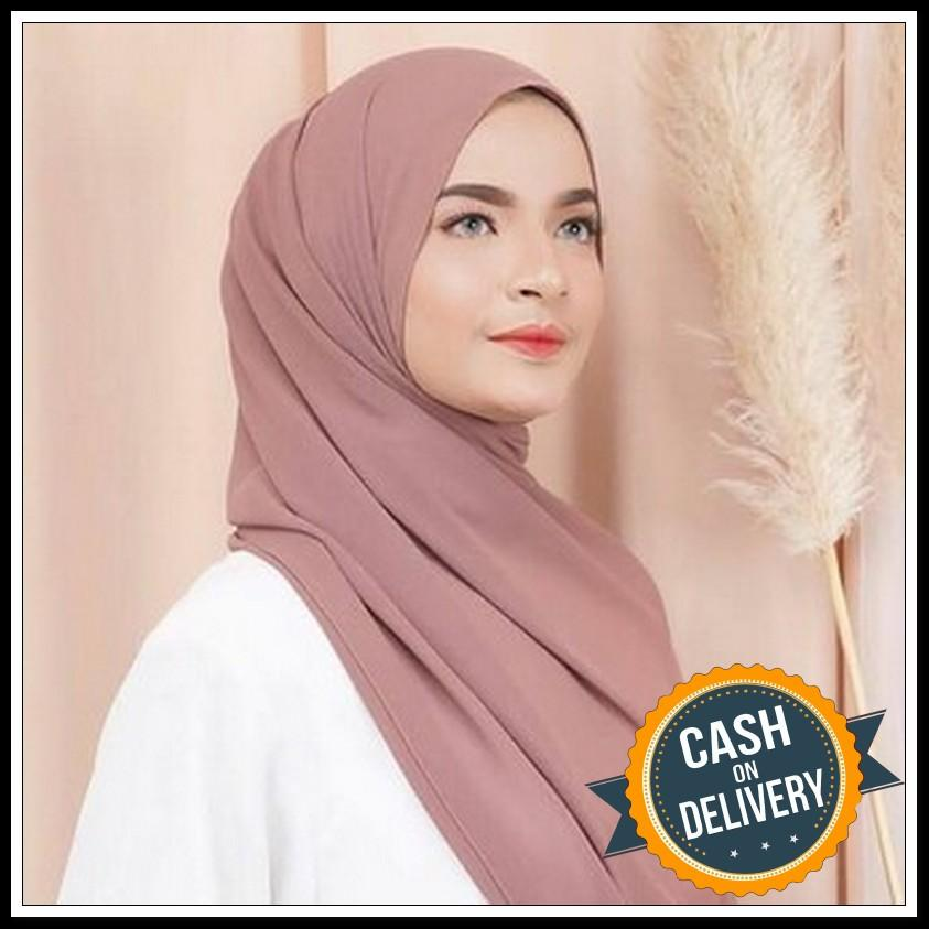 Kerudung Pasmina Sabyan BABY DOLL /Hijab Pasmina Crinkle warna terlengkap / jilbab Pashmina Crinkle / Kerudung Cinkle - Kyo/ Kerudung pasmina CERUTY
