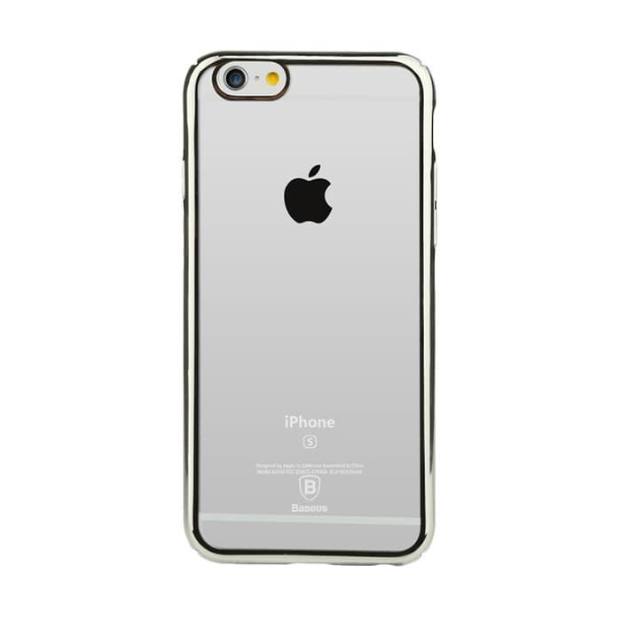 Baseus Glitter Hard Case iPhone 6 Plus  6S Plus  Silver