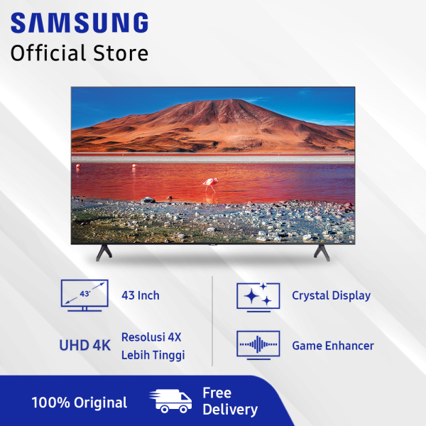 Samsung UHD 4K Smart TV 43  TU7000 (2020 Model)