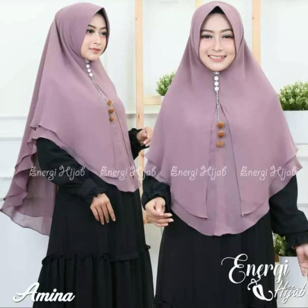 Hijab/Jilbab Instan Model Bergo terbaru termurah dan Terlaris / Kerudung Wanita 2 layar jumbo kanaya manjo terbaru / artha_jaya