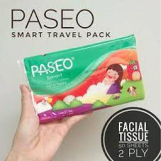 PASEO TISSUE TISU TRAVEL PACK ISI 50 LEMBAR thumbnail