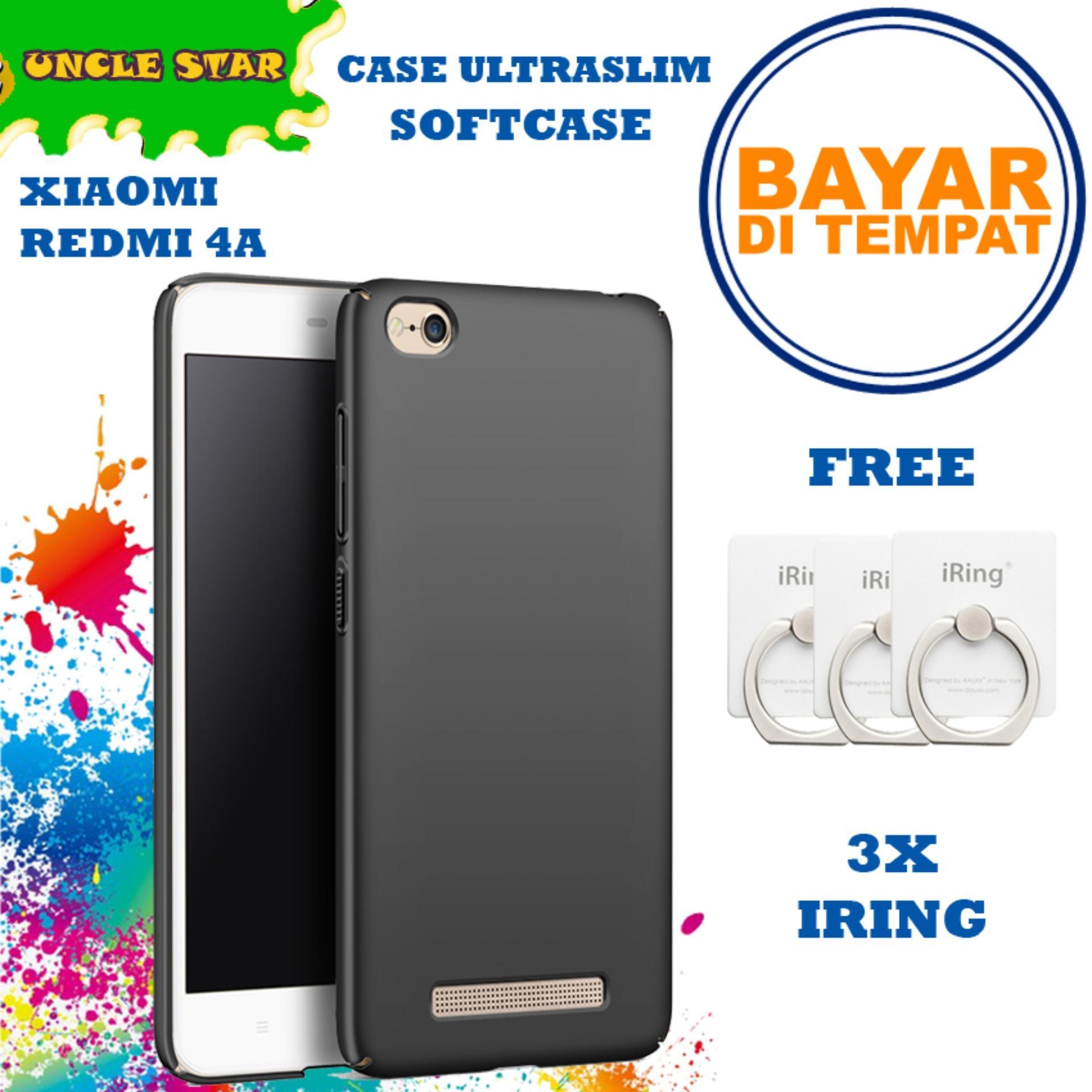 Uncle Star - Case Xiaomi Redmi 4a Softcase Xiaomi Ultrslim Black Matte Baby Skin Anti Minyak