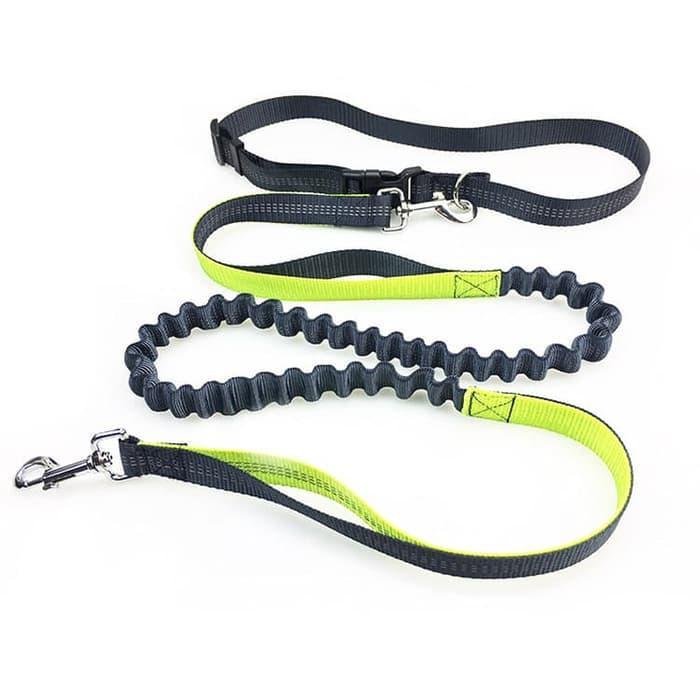 Produk Terlaris!!! Tali Tuntun Anjing Untuk Running Jogging By Khansa Mall.