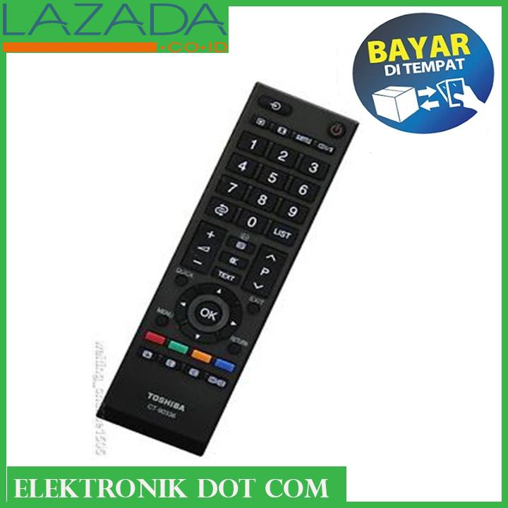 TOSHIBA Remote Led Lcd TV - Hitam