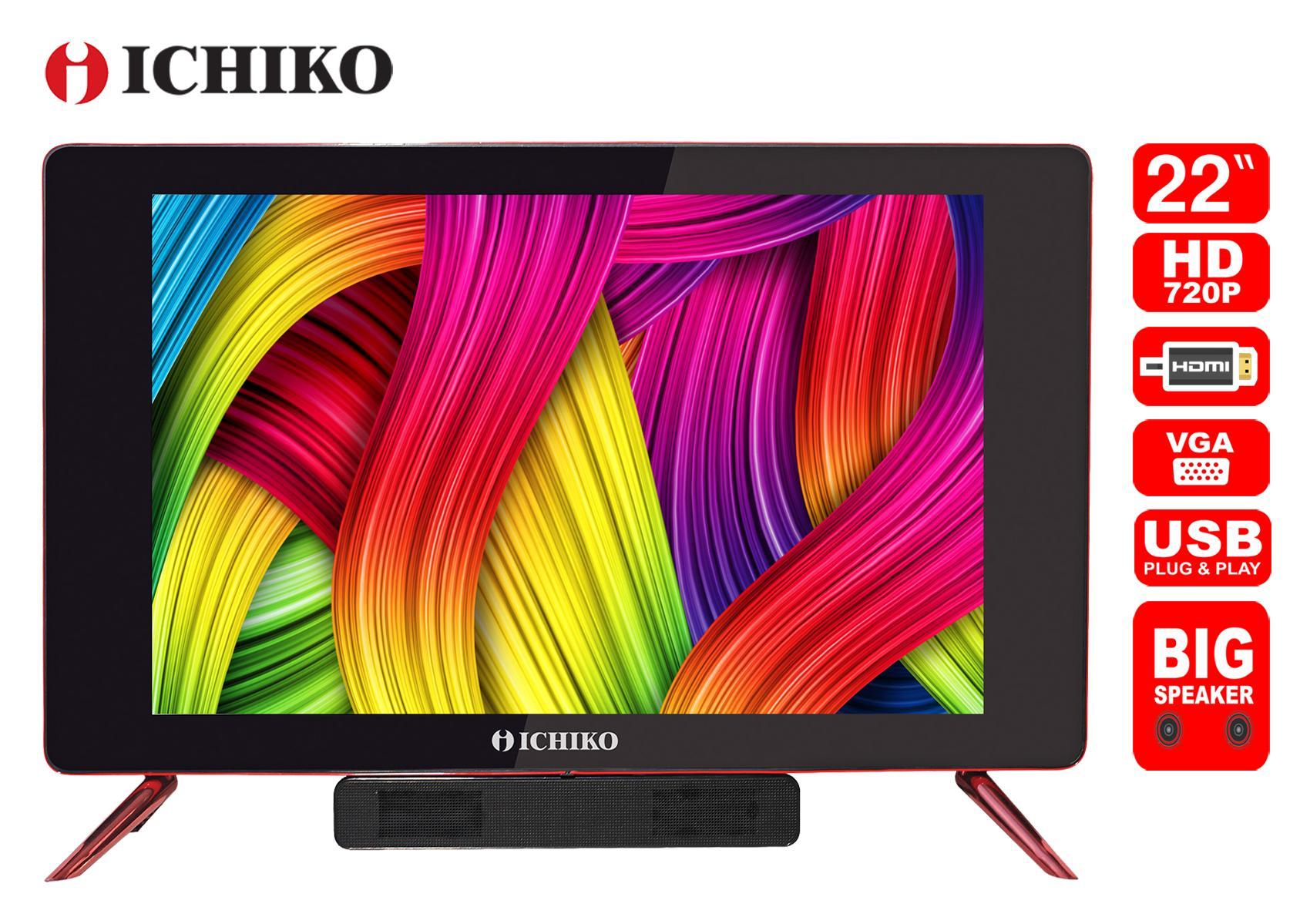 Ichiko Televisi LED 22 Inch HD Tipe S2219