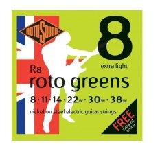 Toko Rotosound Elektric Guitar Strings R8 Roto Greens Murah Di Indonesia