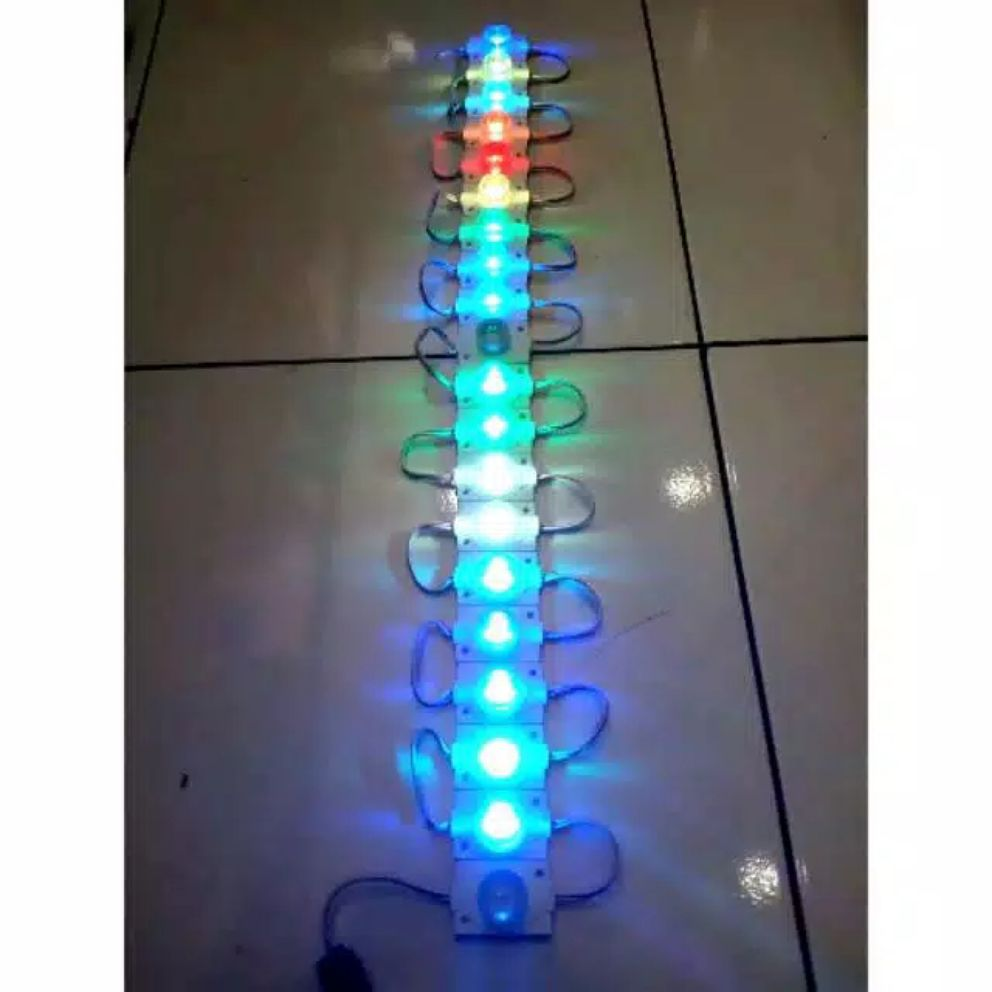 LED MODUL RGB 1 MATA BESAR 1,5 WATT 24 VOLT WATERPROOF