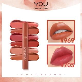 COD TERLARIS YOU Colorland - Powder Mousse Lip Stain [Formula Tahan Lama hingga 8 Jam] thumbnail