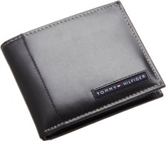 Review Tommy Hilfiger Mens Cambridge Passcase Black Indonesia