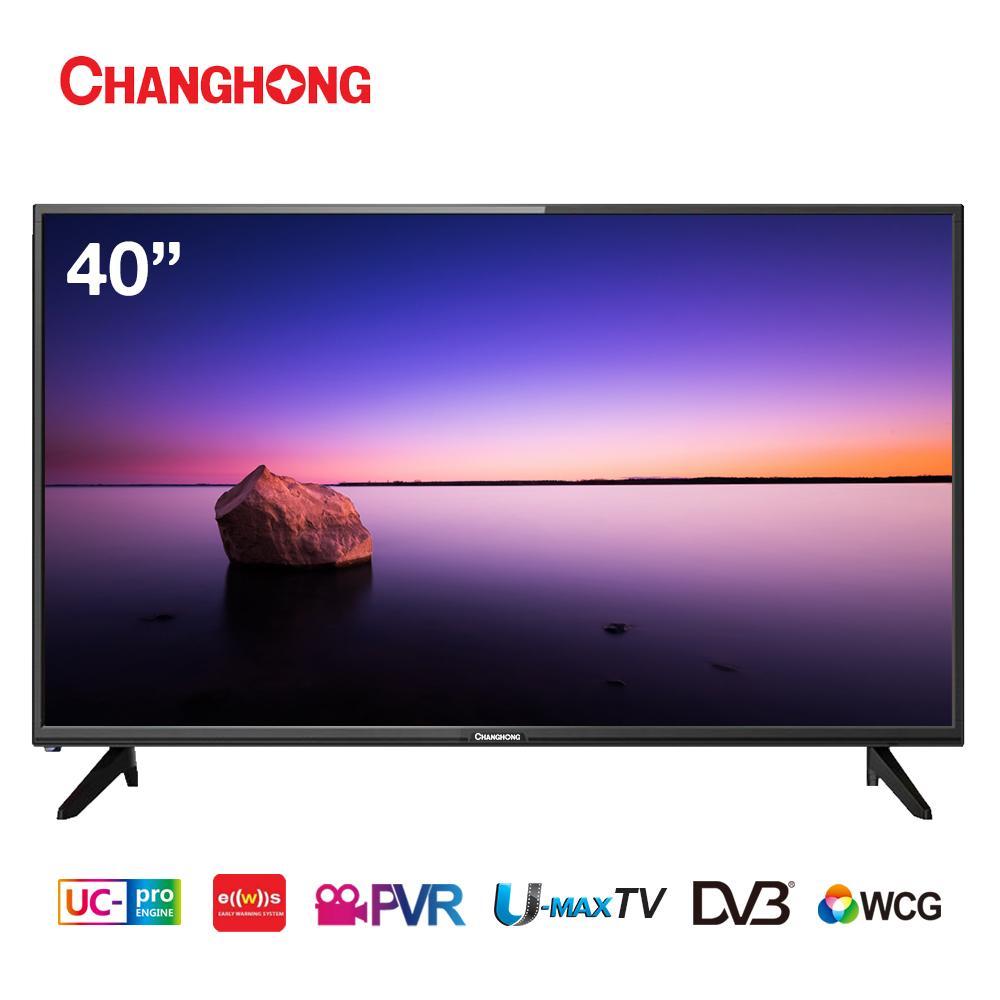 CHANGHONG LED TV 40 Inch - Digital TV - Full HD TV - USB/HDMI - L40H5T - Garansi Resmi 3 Tahun