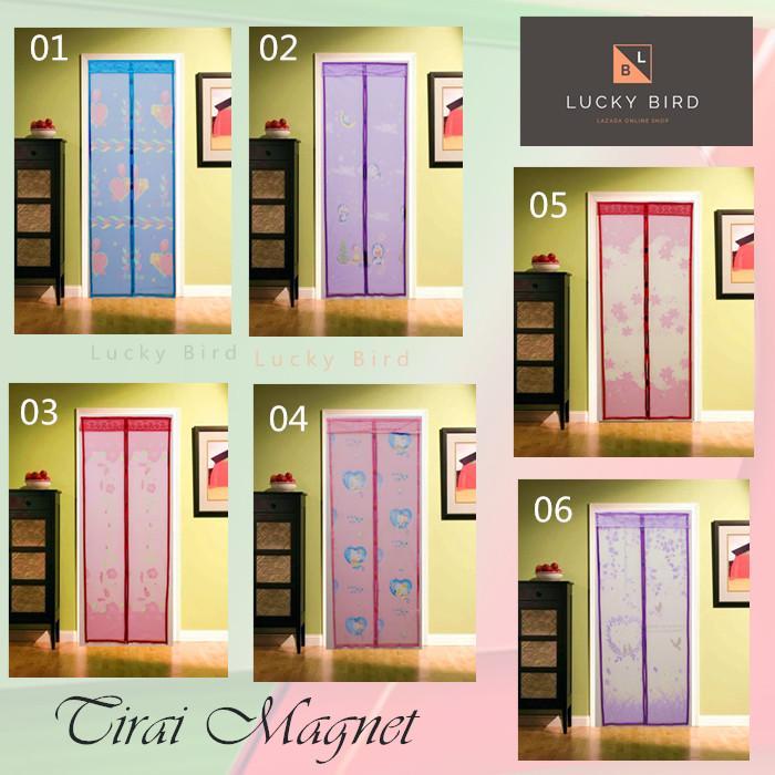 Tirai Magnet Anti Nyamuk Karakter/ Kasa Nyamuk/ Tirai Pintu