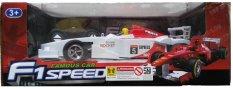 Formula 1 Speed Famous Car white