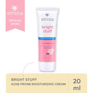 EMINA Bright Stuff Acne Prone Moisturizing Cream 20ml - Krim Wajah thumbnail