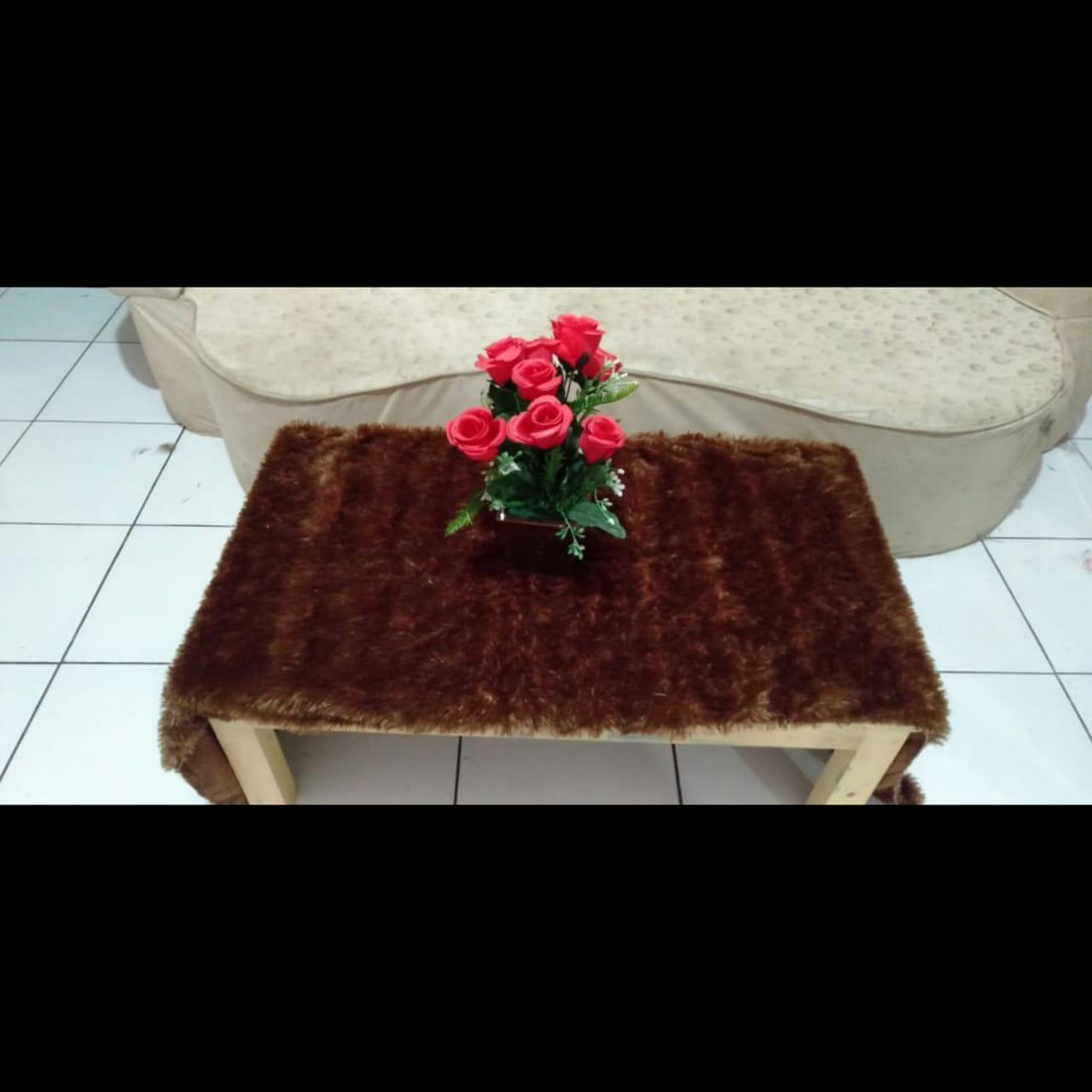 Taplak Meja Uk 50x150cm Bahan Halus Dan Lembut