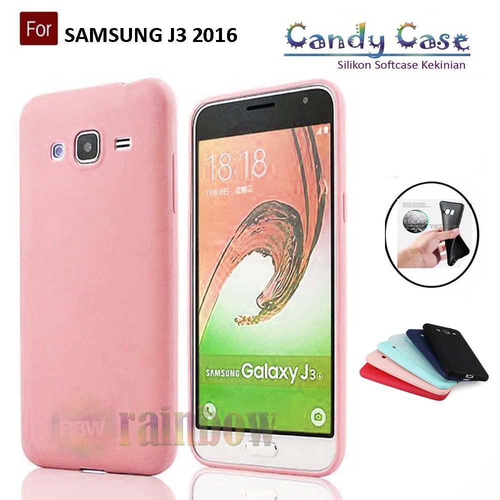 Lize Candy Case Samsung Galaxy J3 2016 Softcase Samsung J3 2016 Case Matte Samsung J310 Silikon Case Samsung J310 Slim Jelly Case Samsung J310 Case Fleksible Samsung J310 Rubber Case Silicone Case Unik / Case Hp / Casing Samsung J3 2016