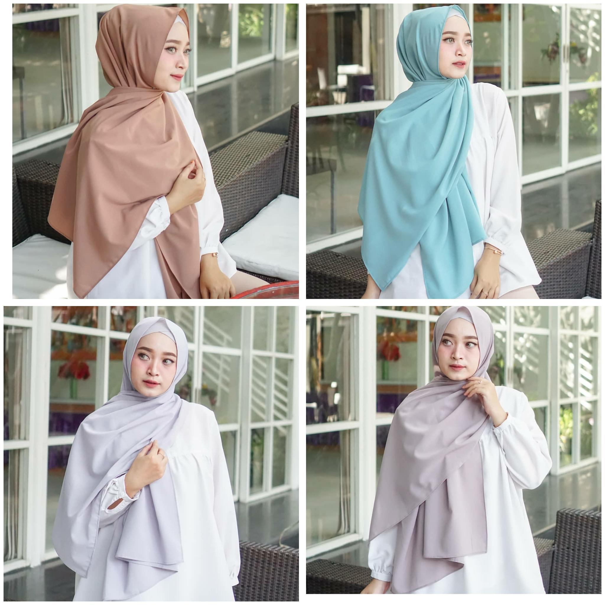 Jilbab / Hijab Pashmina SABYAN DIAMOND - Kerudung terbaru
