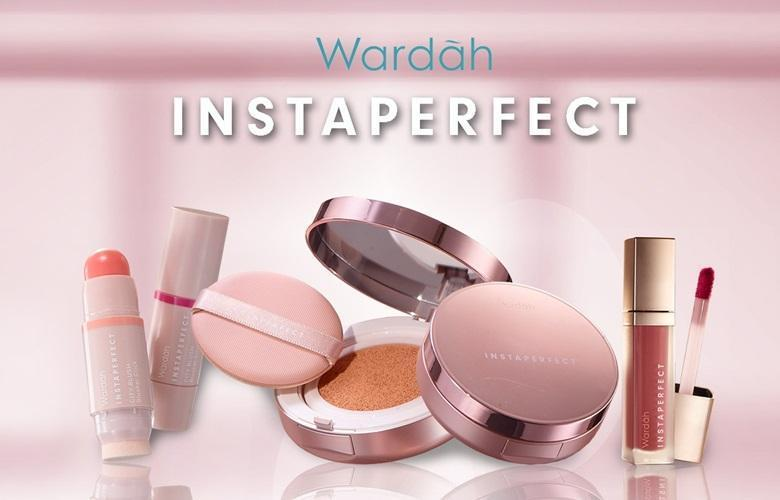 Wardah Instaperfect Paket Isi 5 (1. Instaperfect Porefection Skin Primer 2. Instaperfect Mineralight Matte BB Cushion 3. Instaperfect Powder Foundation 4. Instaperfect City Blush Blusher 5. Instaperfect Lip Matte Paint)