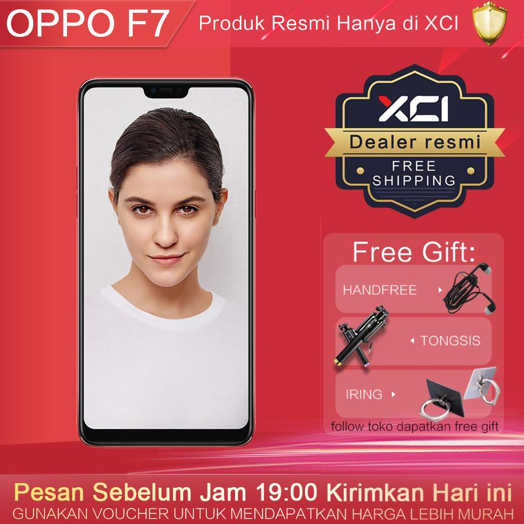 hp oppo F7- 6G+128G Gratis Ongkir, 25MP AI Powered Selfie, AI Scene recognition, Garansi resmi