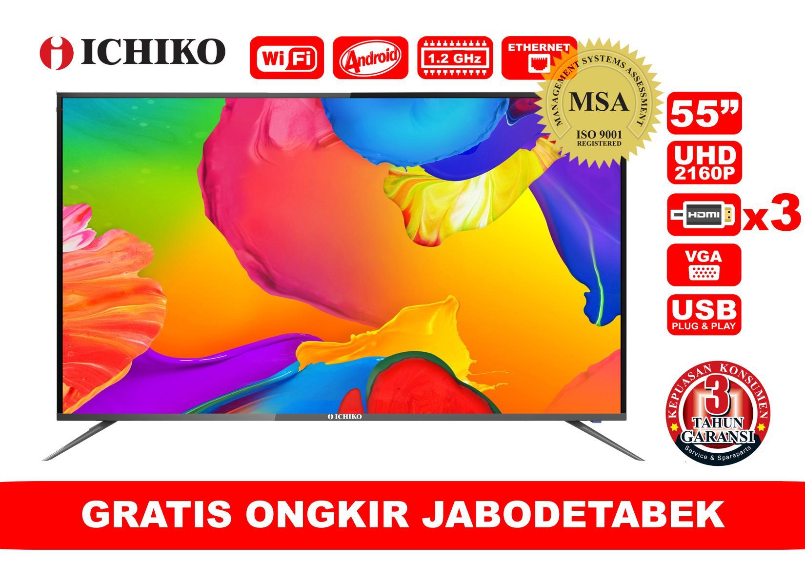 ICHIKO LED Smart TV 55 inch 4K Ultra HD (Model ST5526)
