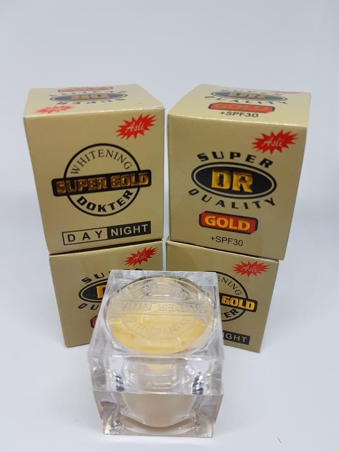 BELI Cream DR Gold Super Whitening Untuk Memutihkan Wajah ...