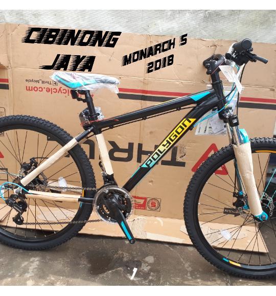 Sepeda MTB POLYGON MONARCH 5.0 2018