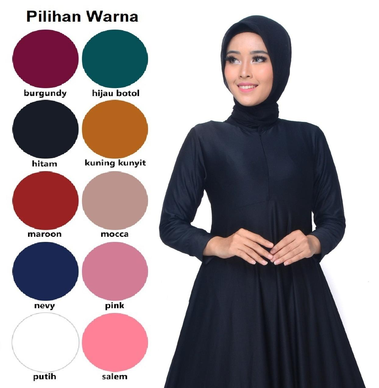 Gamis Jersey Polos #01