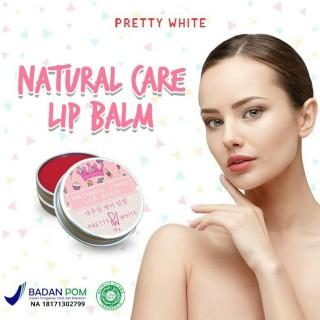 AMPUH COD Vitamin pemerah bibir alami Pretty White Natural Care Lip Balm Serum pemerah Bibir emerah bibir Pelmbab Bibir Lipstik Pemerah Bibir cream pemerah bibir hitam cream pelembab bibir kering dan pecah-pecah thumbnail