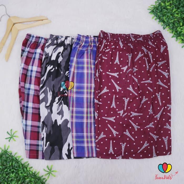 Celana Hawai Dewasa JUMBO - KODE CPR / Celana Pria Harian Boxer Pendek / MD1090719