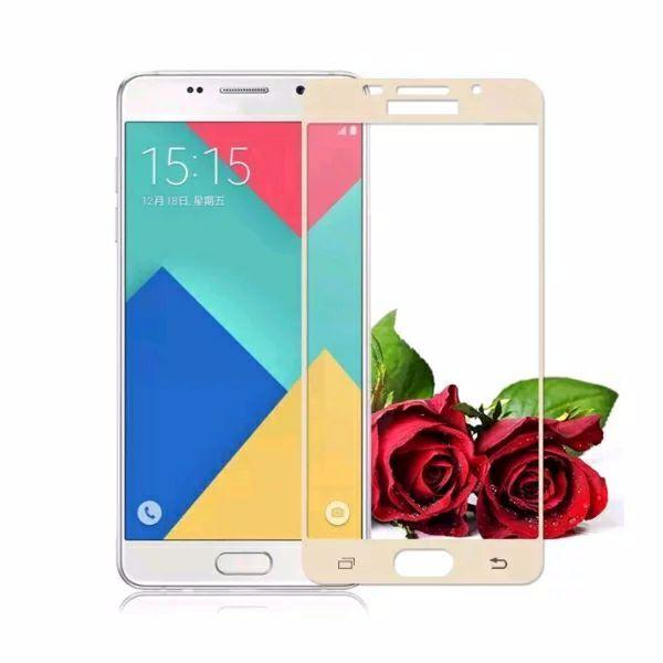 HMC Samsung Galaxy A9 Pro 2016 / A9 Full Screen Tempered Glass - Screen Guard -