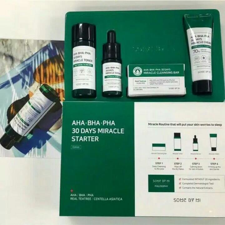Some By Mi Aha Bha Pha 30days Miracle Starter Kit By Graciella Korean Makeup.