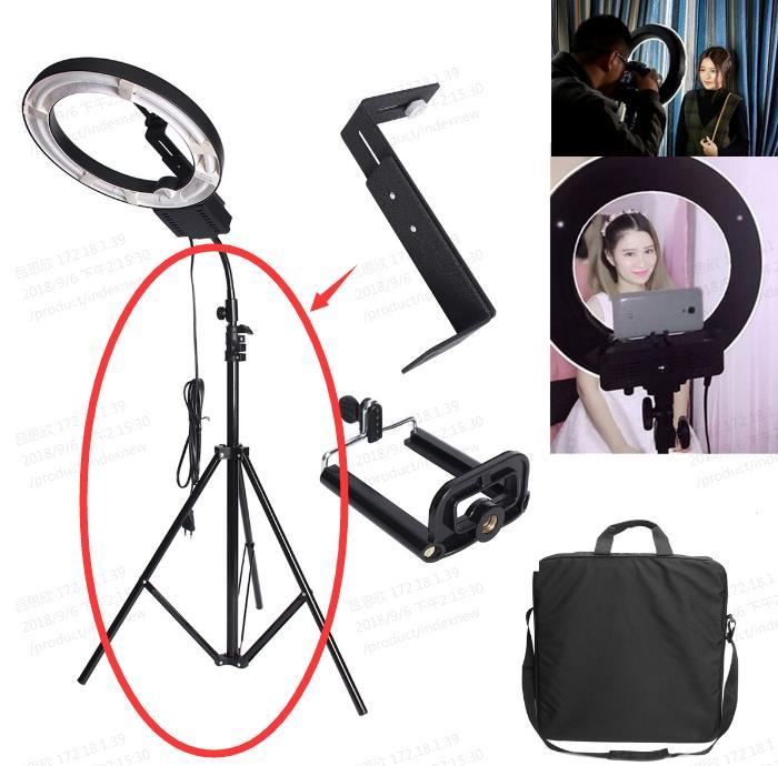 【Gratis Ongkir】Tripod MIni Kamera Hp Handphone Tripod Stand with Phone Clip Bracket Holder