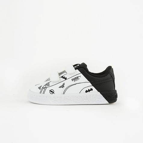 1782a35ddadc Puma Jl Basket V Inf-Puma White Sepatu Olahraga Sneakers Anak Laki-laki-