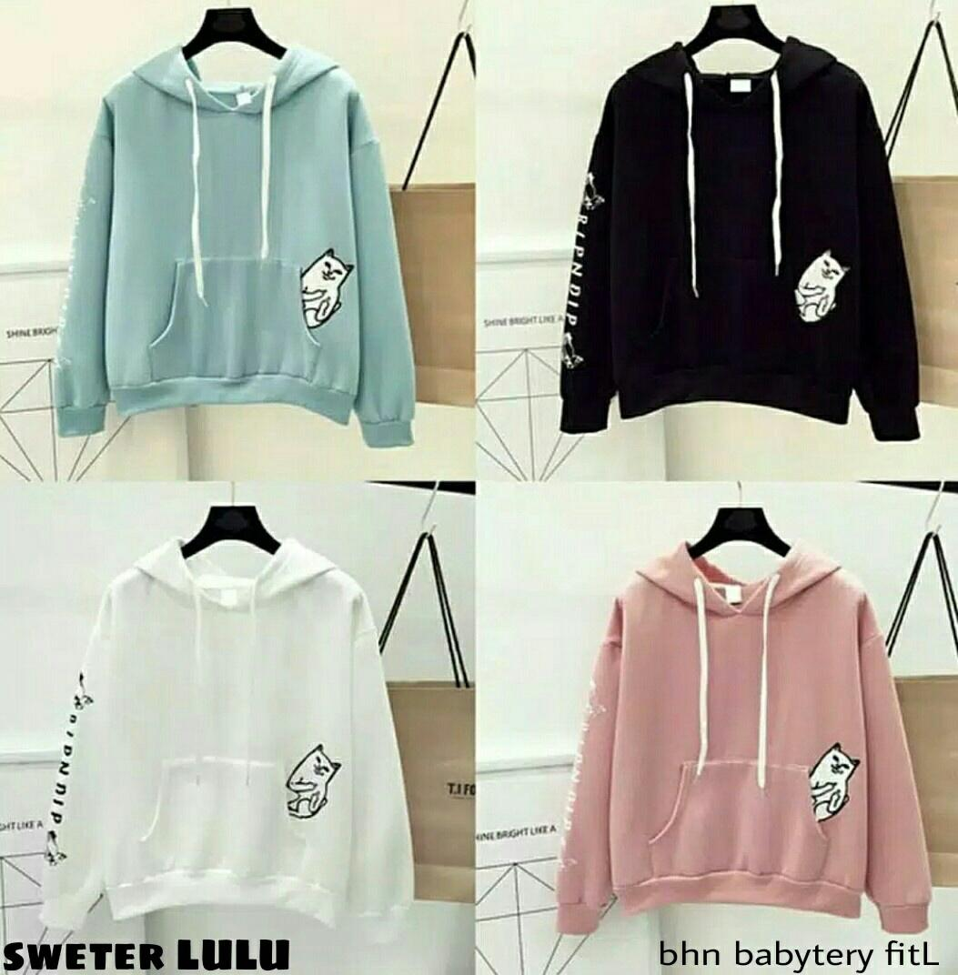 Labelledesign Sweater HOODIE LULA LULU JACKET WANITA JAKET KEKINIAN 160c1bf5c2