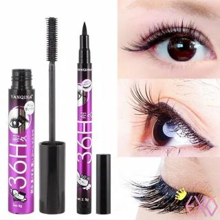 BP TERMURAH BISA BAYAR TUJUAN COD KOSMETIK MATA WATERPROOF EYELINER PEN CAIR DAN MASCARA SET 2IN1 LONG LASTING ANTI AIR thumbnail