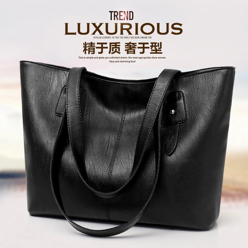 360a269fed3 Tide fashion large capacity tote bag casual shoulder bag female bag big bag