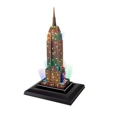 CubicFun Empire State Building With LED - 3D Puzzle