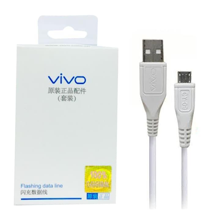 Kabel Data Charger Vivo Y21 Y35 Y53 Y55 Y71 Micro Usb Original 100%