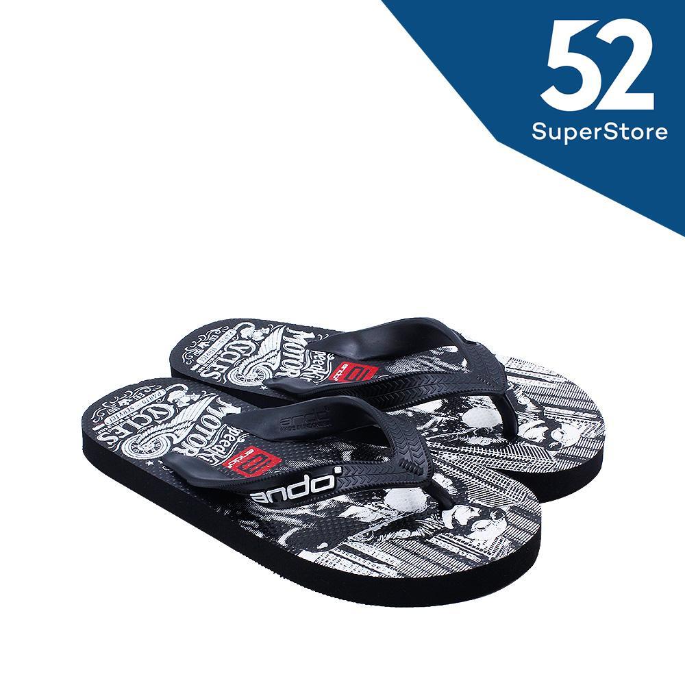 Ando Sandal Jepit/Flip Flop Pria Hawaii Urban 01 - Size 38/42