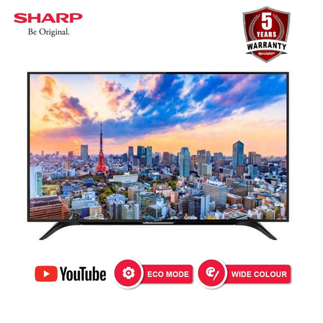 [Nantikan Kejutan 11.11] Sharp 40 Inch Full HD Easy Smart TV - Hitam (2T-C40AE1i)
