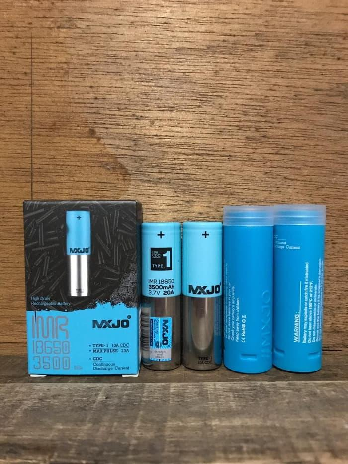 New Mxjo 18650 3500mah 3.7V 20a blue baterai battery vape batre - ready stock