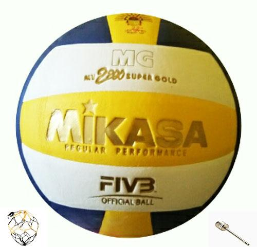 Bola Volly/voli/volley/volli Mv Super Gold 2200 By J&r.