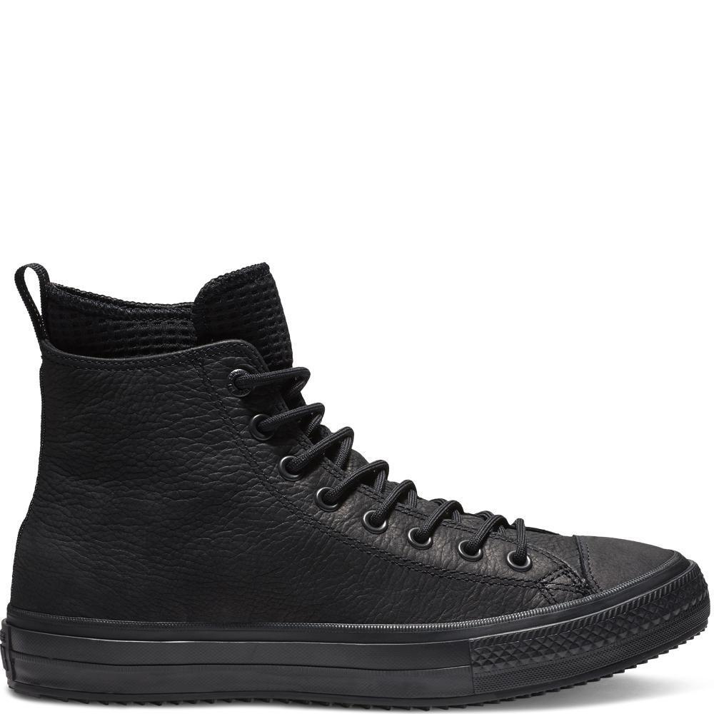 Converse Chuck Taylor All Star WP Boot High Sepatu Pria - Hitam 9d9bdbe7b5
