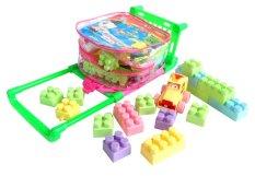 Beli Inini Mainan Edukatif Mainan Balok Bloks Isi 50 Pcs Inini Multicolor Online Dki Jakarta