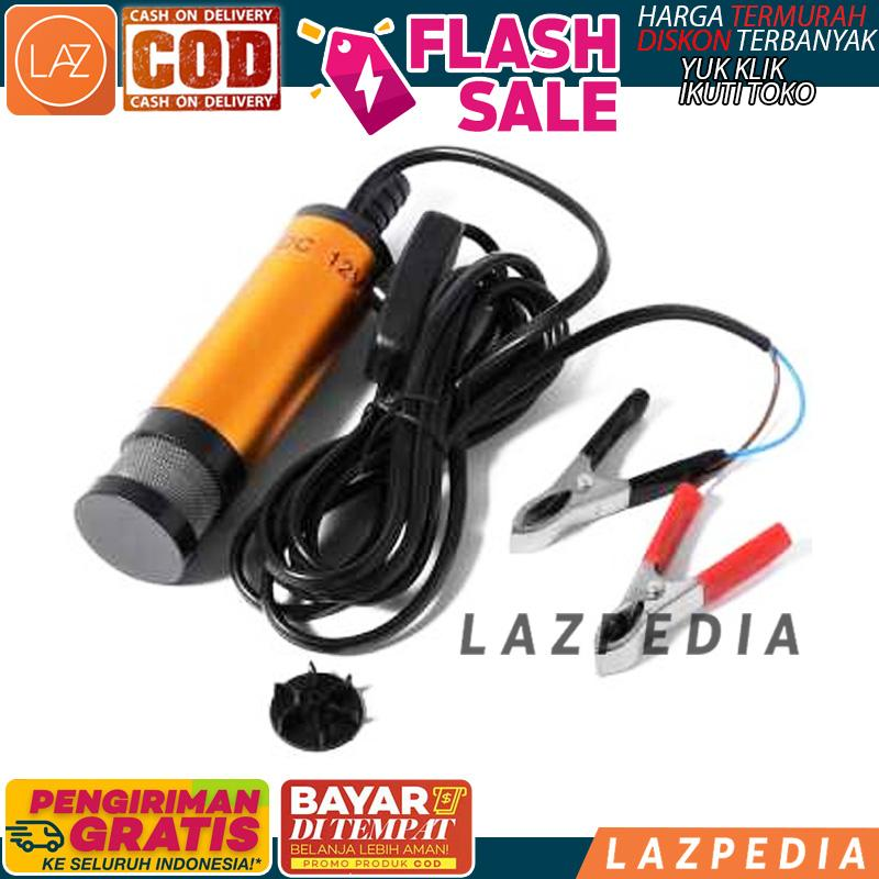 BAYAR DITEMPAT - [12V] Pompa Transfer Oli Bensin Mobil Elektrik / Pompa Portable / Alat Pemindah Oli / Perlengkapan Oli - B977