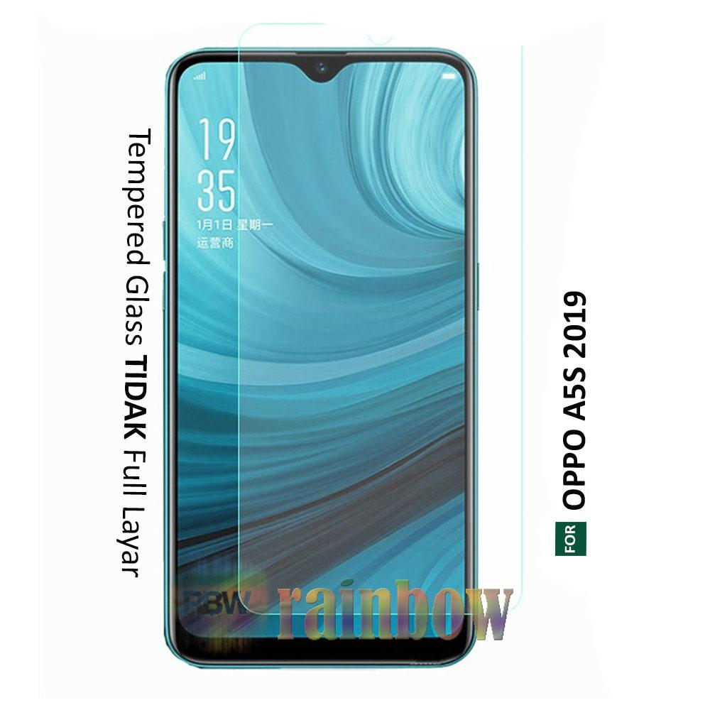 rainbow Tempered Glass Oppo A5s Bening Screen Protector Oppo A5s Temper Oppo A5s Tempered Oppo A5s