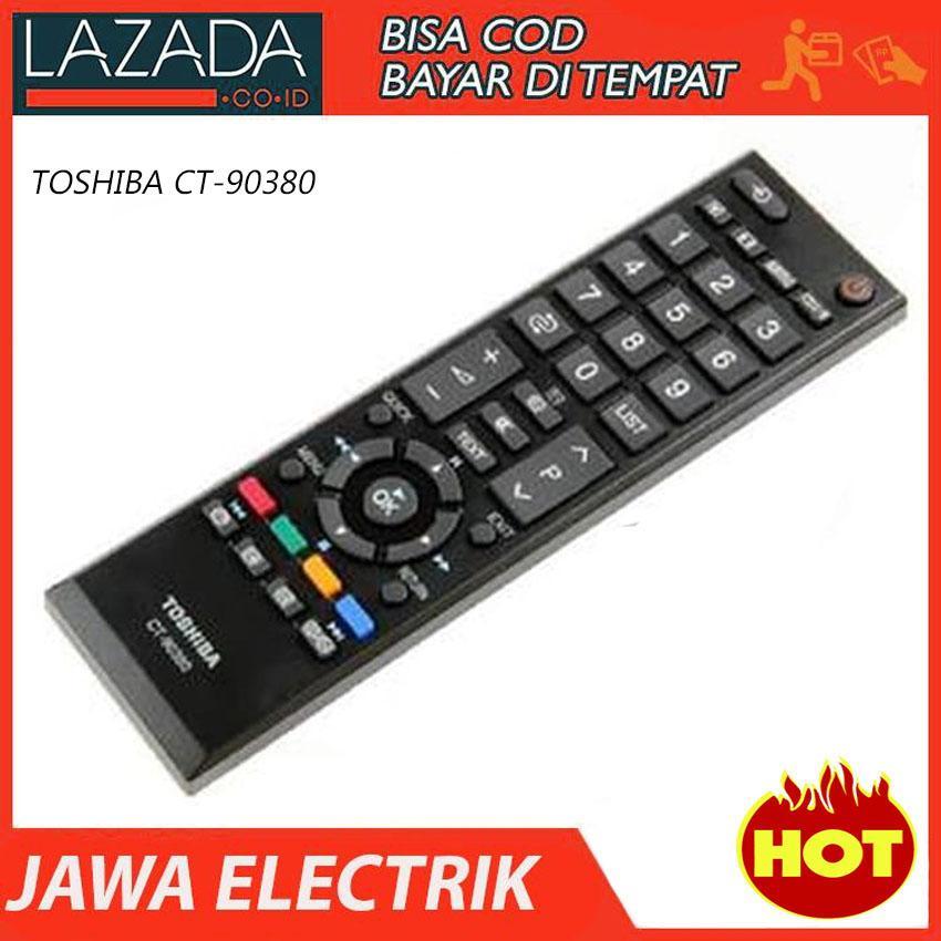 REMOTE TV LCD/LED TOSHIBA CT-90380 ORI/ORIGINAL 100%