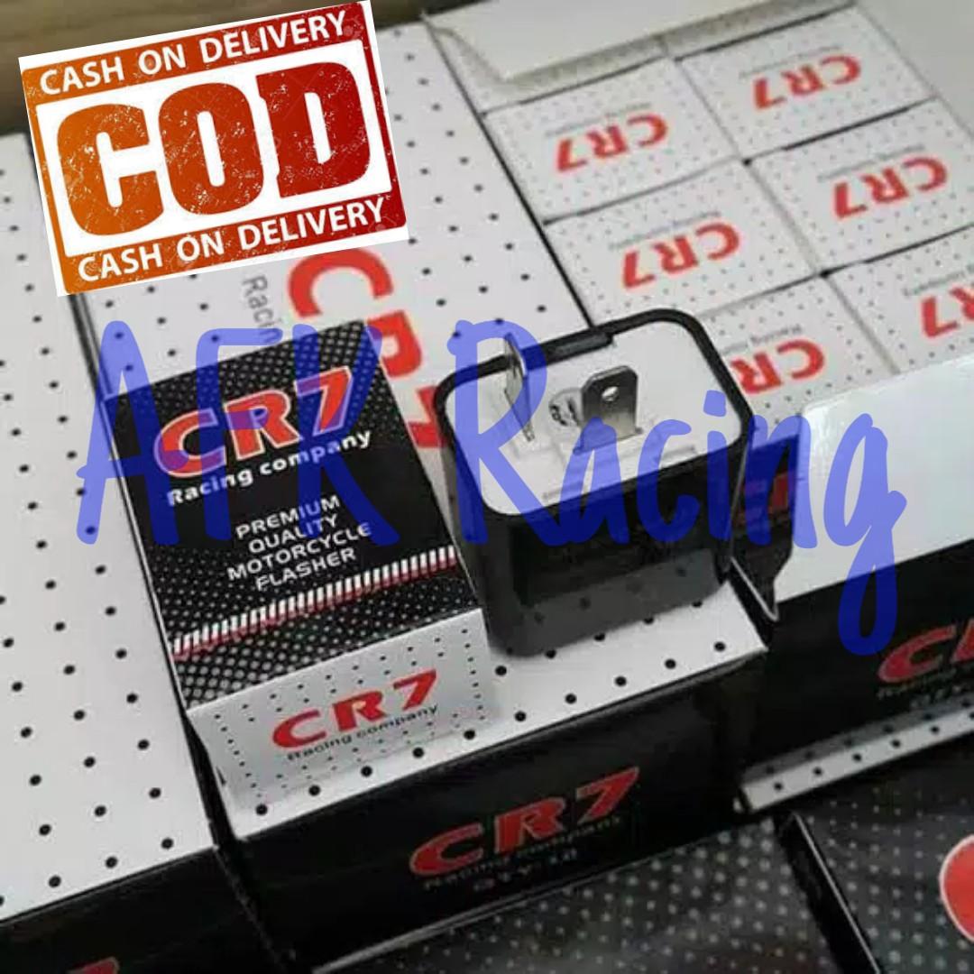 Relay / Flasher Sein Sen CR7 Universal Lampu Depan Belakang Motor Mobil - AFK RACING
