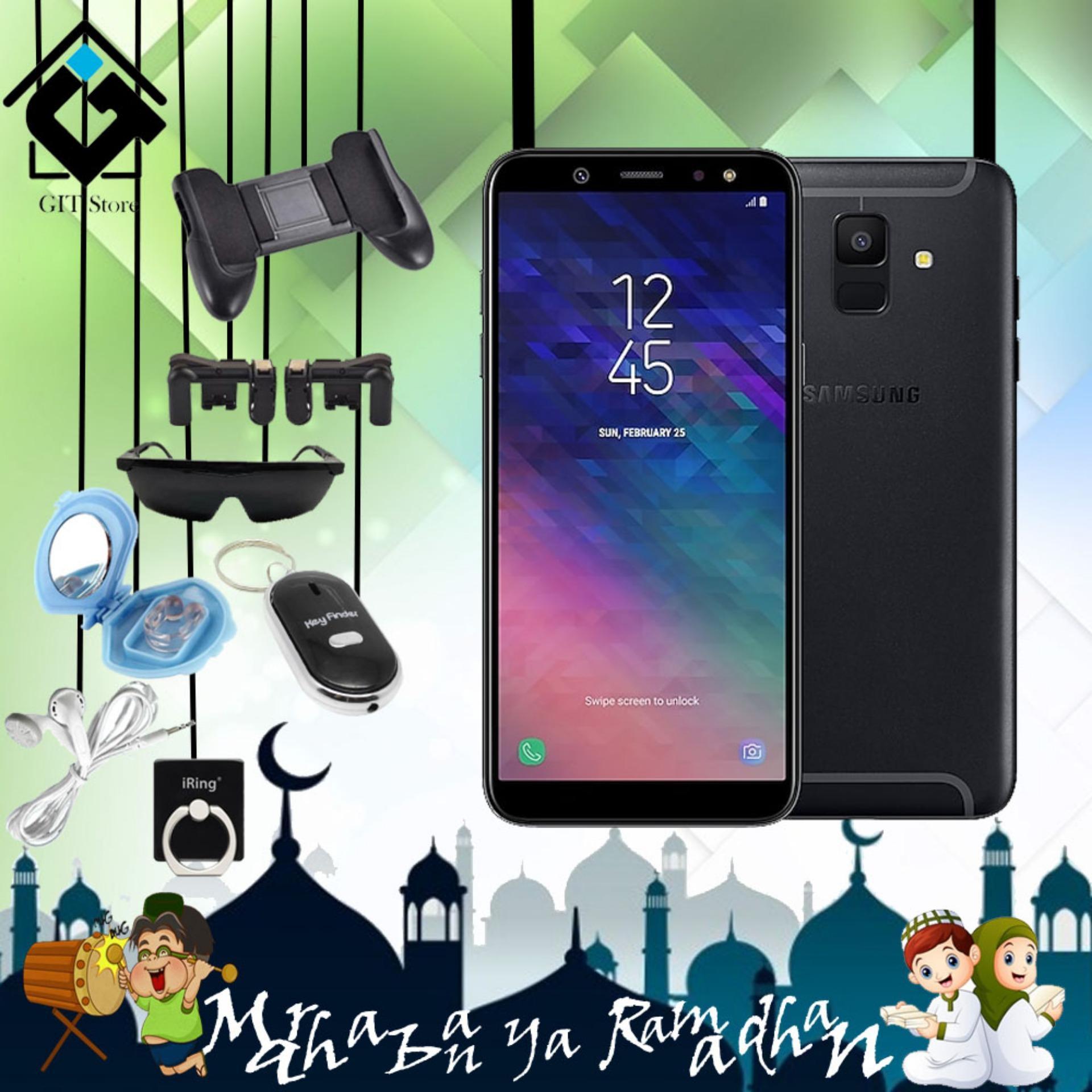 Samsung Galaxy A6 Smartphone [32 GB/3 GB] Free 5 Item