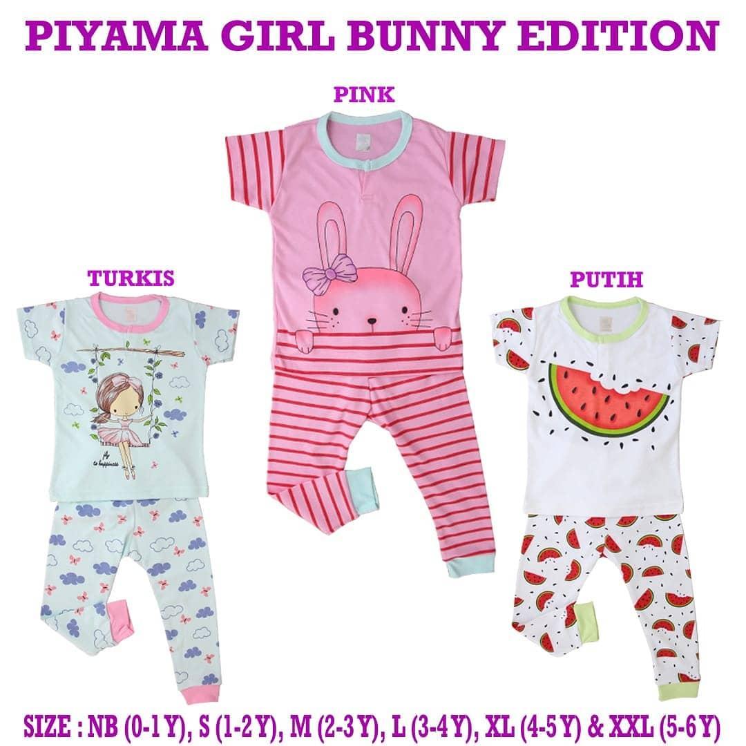 Kazel Baju Bayi / Baju Bayi Perempuan / Setelan Piyama Anak / Setelan Piyama Bayi Perempuan