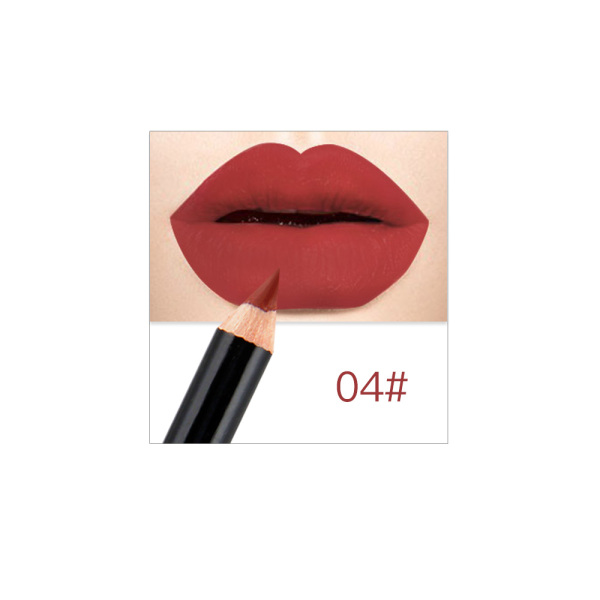 Litfly 12 Màu Thời Trang Lip Makeup Bút Chì Lâu Dài Sắc Tố Không Thấm Nước Matte Lip Liner Son Môi Bút Công Cụ Trang Điểm Mới Sẵn Sàng giá rẻ